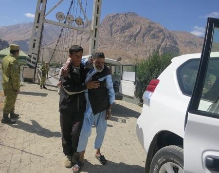 Tajik Badakhshan helps save lives in Afghan Badakhshan
