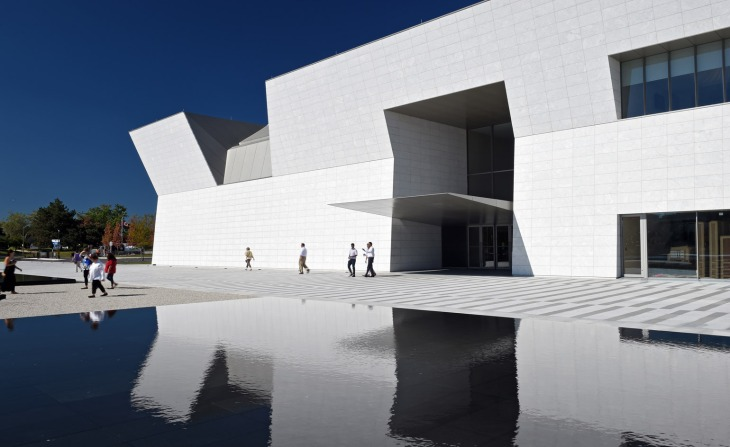 The Aga Khan commissioned Pritzker Prize-winning Japanese architect Fumihiko Maki to design a home for his private collection on the outskirts of Toronto. (Image: Wallpaper/Aga Khan Museum)