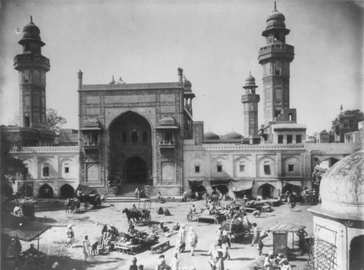 wazir_khan_mosque_in_1895