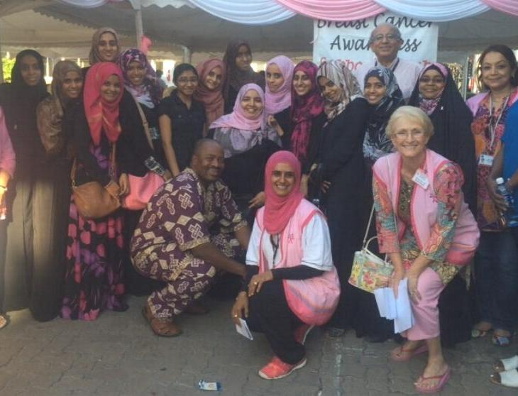 Coastweek   The Breast Cancer Awareness Support Group at the Aga Khan Hospital Mombasa
