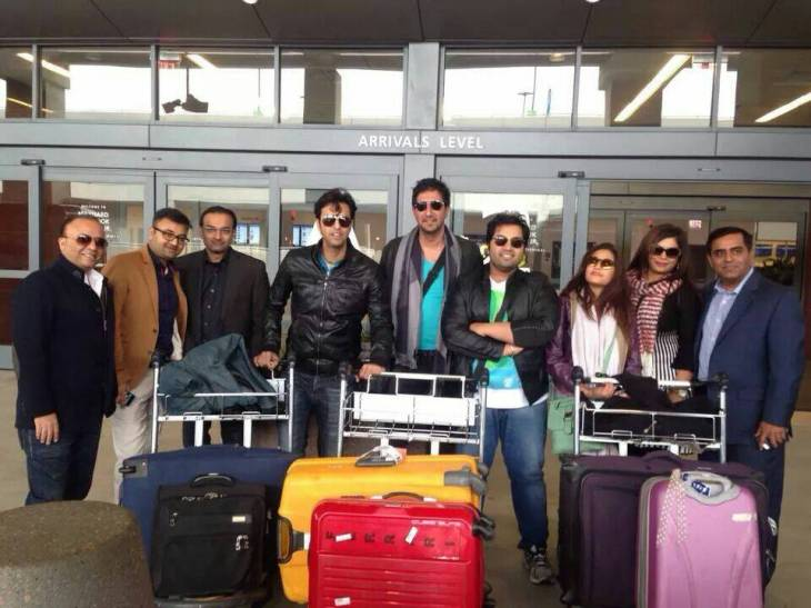 Angel Eyes Entertainment receives Salim, Sulaiman and team at the Hartsfield–Jackson Atlanta International Airport earlier today