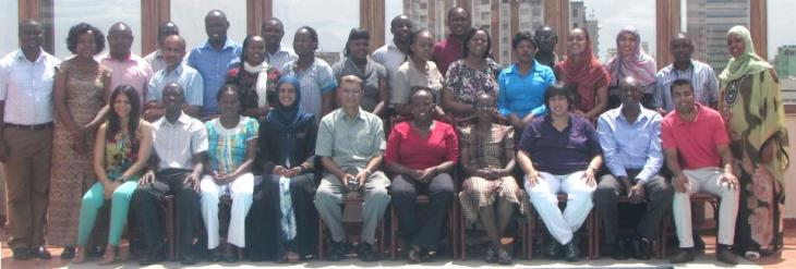 Ismaili Health Professional Association USA and Canada train staff of Aga Khan Hospital, Mombasa
