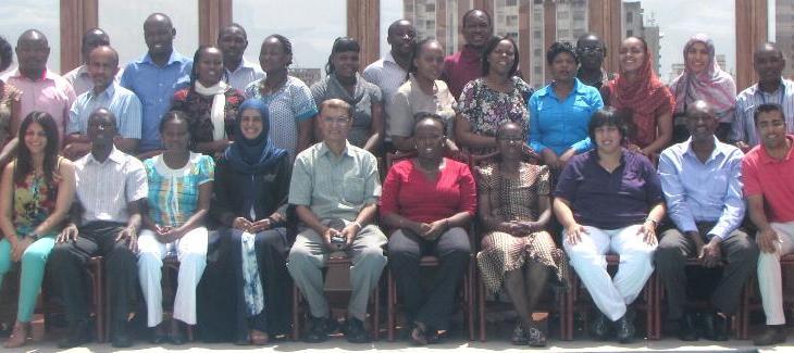 Ismaili Health Professional Association USA and Canada train staff of Aga Khan Hospital, Mombasa