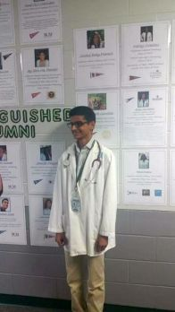 Hightower High School's Adam Kermally to Attend Congress of Future Medical Leaders in Washington, D.C.