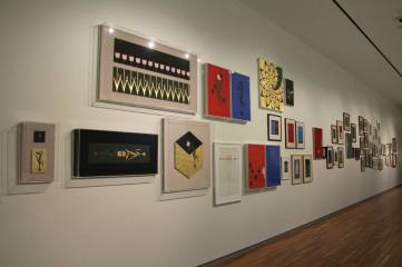 Aisha Khalid's 59 Paintings from the period 1998-2014 being on display at Aga Khan Museum, Toronto (Image: Ismailimail/Aisha Khalid)