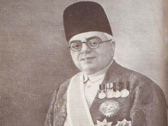 His Royal Highness Sir Aga Khan III. (Photo The Express Tribune)