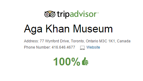 TripAdvisor Reviews: Aga Khan Museum, Toronto