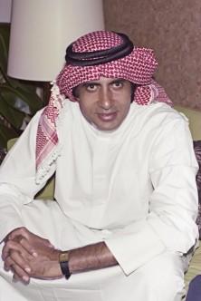 Amitabh Bachchan Indian actor Dubai 1980s © Noor Ali Rashid Archives