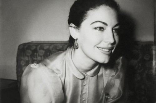 Ava Gardner American Actress Karachi 1950s © Noor Ali Rashid Archives