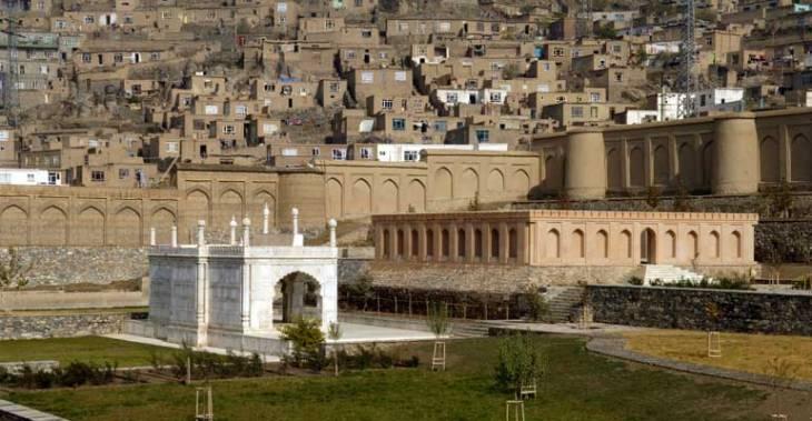 Babur's Gardens after restoration by the Aga Khan Trust for Culture (Photo AKDN)