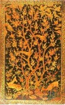 One of a pair of lacquer painted covers. Persia, late 16th century. Private Collection, LondonImage: The Institute of Ismaili Studies