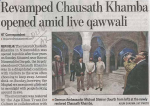 Chausath Khamba tomb reopens after four years of painstaking work