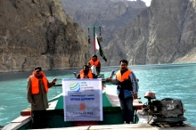 Serena Hotels Pakistan celebrated World Responsible Tourism Day 2014 at Attabad Lake Hunza, Official Supporter of World Travel Market