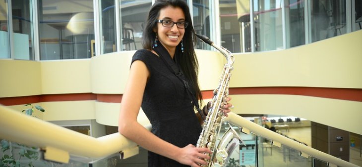 Anisha Mawji: Music undergrad leaves no notes unplayed