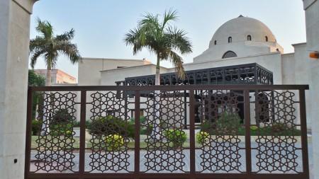 Main entrance of the Ismaili Centre, Dubai | Hussein Charania Photos