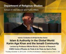 FIU - Islam and Authority in the Global World - Karim Aga Khan and the Ismaili Community - MP