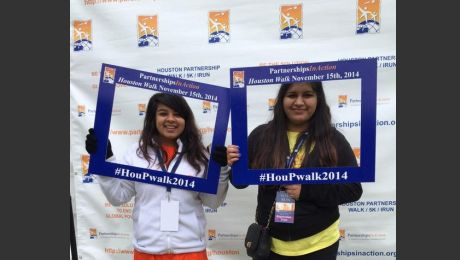 Photos: Aga Khan Foundation, USA Houston PartnershipsInAction Walk/Run 2014