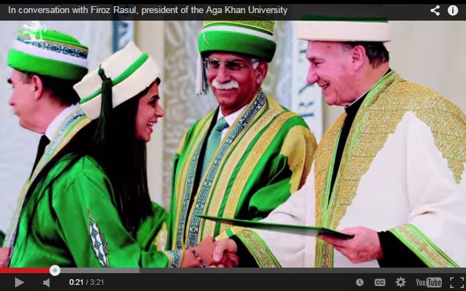 In conversation with Firoz Rasul, president of the Aga Khan University