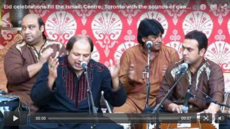 Eid al-Adha celebrations fill the Ismaili Centre, Toronto with the sounds of qawwali