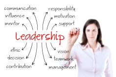 Leadership - Arrows - Lady