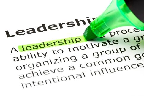 'Leadereship' highlighted in green
