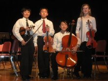 Marcato Quartet at the Aga Khan Museum: The Arrival of the Queen of Sheba
