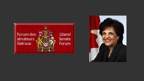Senator Mobina Jaffer introduces Ismaili Jamatkhana to the Canadian Senators