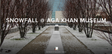 Salim Nenshi - Snowfall at AKM - IC-TO