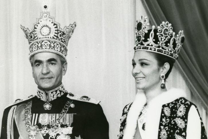 Shahenshah Mohammed Reza Shah Pahlavi and Shahbanu Fara Pahlavi, Iran, 1967 © Noor Ali Rashid Archives