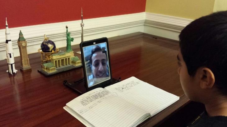 SS-Aspring Astronaut -Qayl interviewing