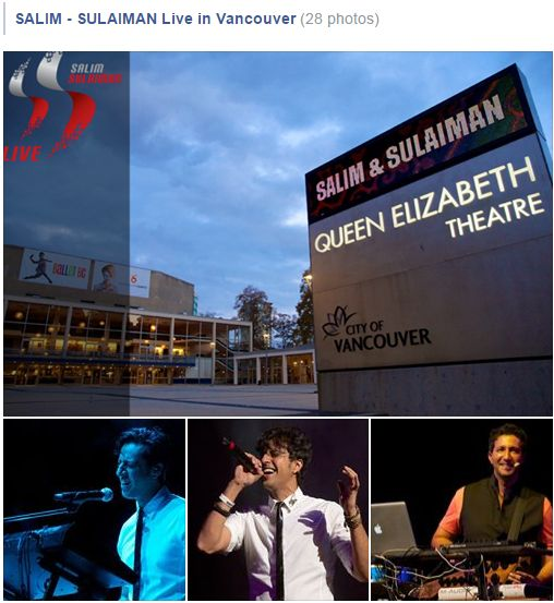 SALIM - SULAIMAN Live in Vancouver: