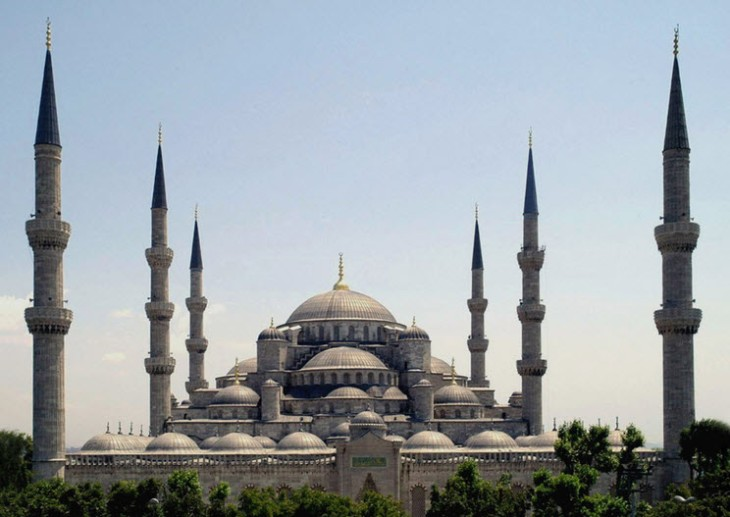 Sultan Ahmet Mosque Image:Wikipedia