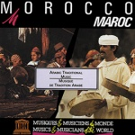 Morocco: Arabic Traditional Music - Various Artists UNES08002