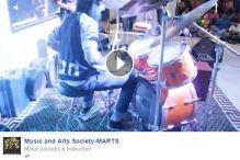Solo performance by Drummer Alishan Lakhani
