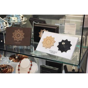 Arabesque Coasters at Aga Khan Museum Gift Shop designed by Rahim Bhimani