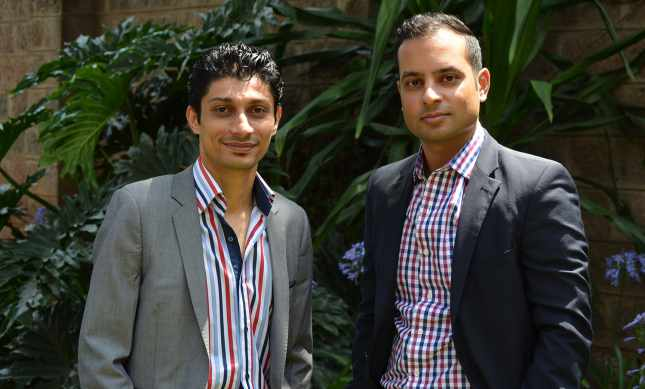 Bamba founders Al Ismaili, Shehzad Tejani and Faiz Hirani (not shown) saw an opportunity to use their company's business model to improve education and address poverty (Courtesy of Bamba)