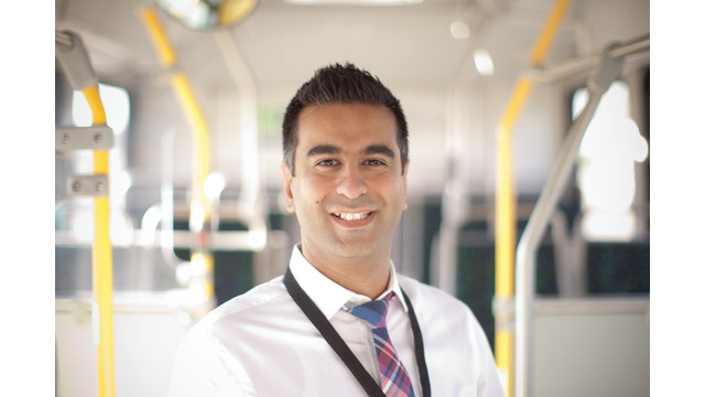 Top 40 Under 40 2014 Award: Calgary Transit Planner Asif Kurji (Photo: Calgary Transit)