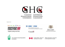 Canadian Humanitarian Conference