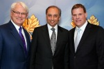 DFATD - Left to right Gordon Campbell, Canada's High Commissioner to the United Kingdom, Mahmoud Eboo of the Aga Khan Foundation and Canadian Foreign Affairs Minister John Baird on the occasion of the Diefenbaker Award