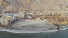 Outline of the Future Khorog Jamatkhana, Tajikistan - Hussein Charania Photos