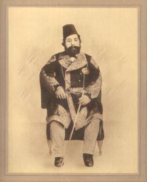 Undated photo of Imam Aqa Ali Shah Image: The Ismailis An Illustrated History