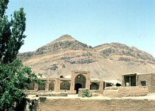 Kahak served as the residence and headquarters of Nizari Imams in the late 17th and early 18th centuries. Image: The Institute of Ismaili Studies