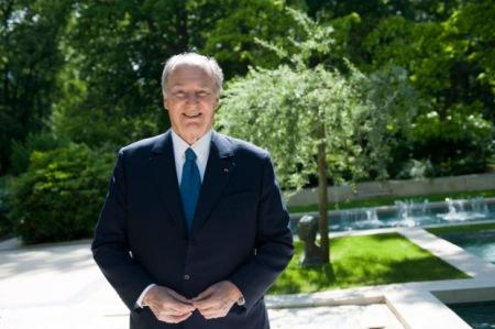 Prince Karim Aga Khan Chateau De Chantilly Sponsor