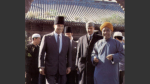 Mawlana Hazar Imam with the Imam of Xian Mosque
