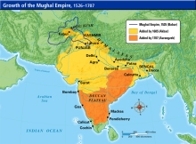 Mughal Empire Map