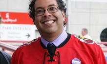 Naheed Nenshi is in the running for World Mayor 2014. (Photograph flickr via The Guardian)