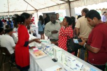 Aga Khan Health Services, Nairobi organize a preventive medicine fair