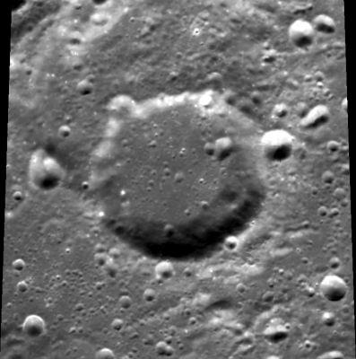 Lunar crater- Umar Khayyam (Image: Wikipedia)