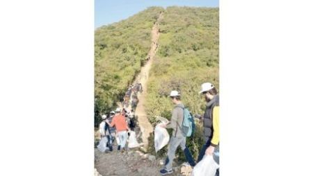 Pakistan Mountain Festival: A hike & cleaning up of Margalla Hills, organized by Aga Khan Rural Support Programme and others