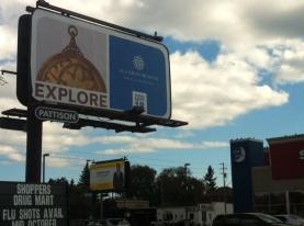 Aga Khan Museum Billboard